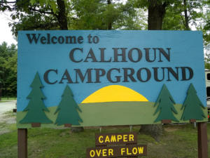 Campground Photo sign