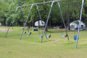 Campground Photo Swingset